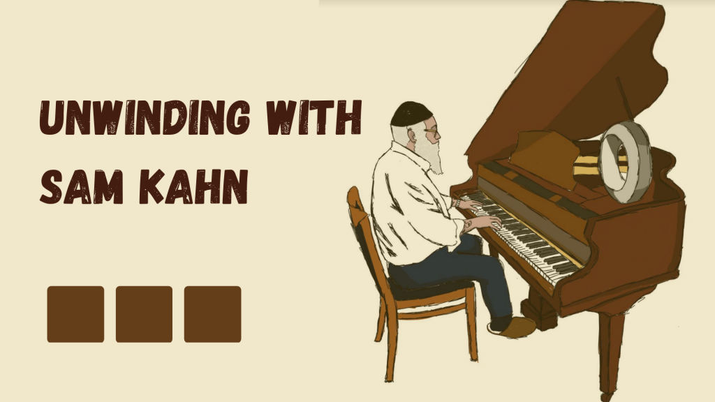 How Samuel Kahn Unwinds With The Piano